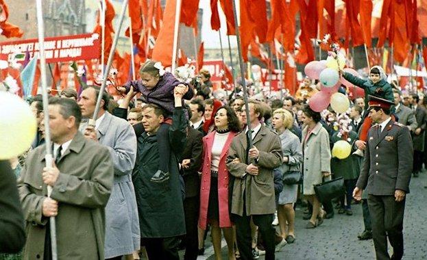 Першотравневий парад в СРСР
