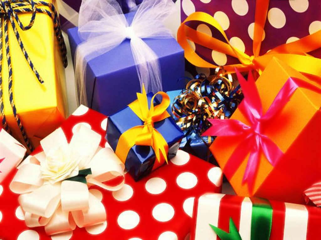 Какие можно подарки на день рождения