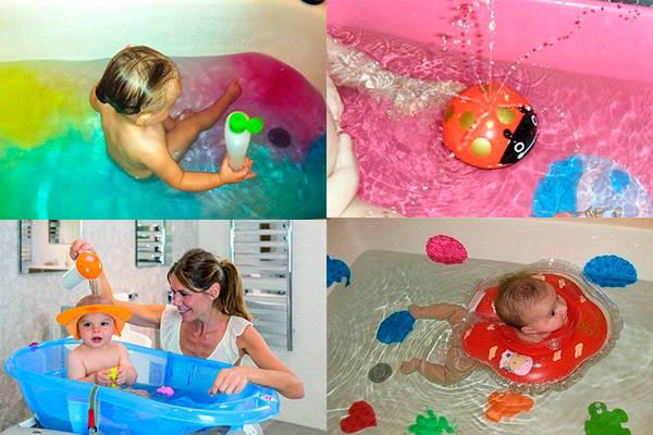 Интересные подарки для купания детям