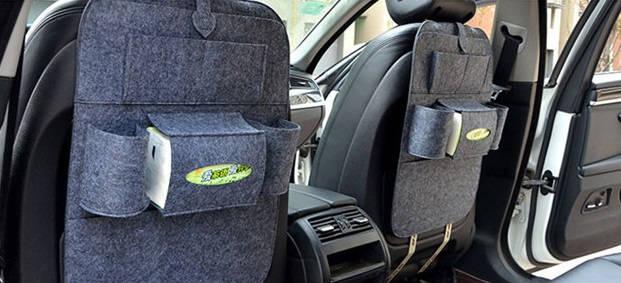 Органайзер на спинку сидений в автомобиль